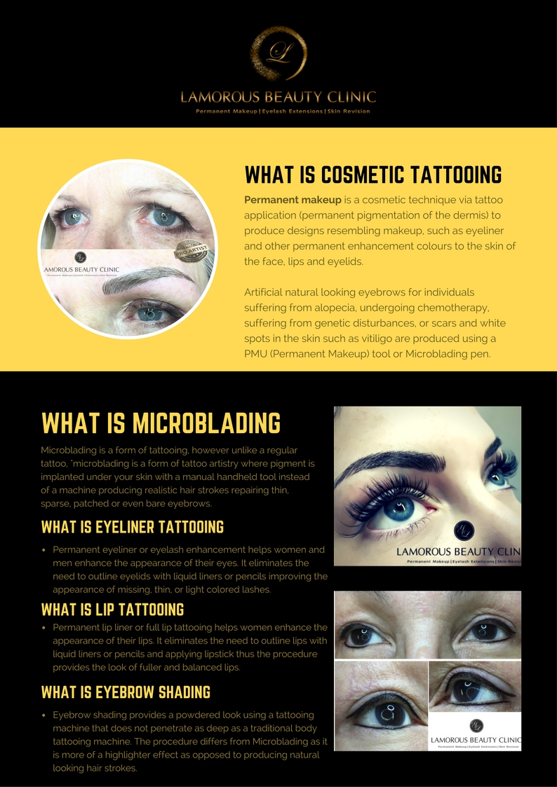 Cosmetic Tattooing by Lamorous